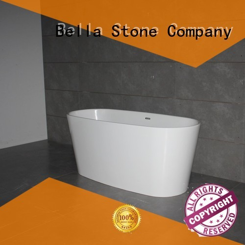 artificialstone designer capital deep freestanding tub pure Bella Brand