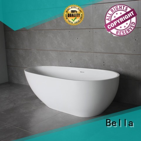 Bella Brand lightweight artificialstone deep freestanding tub manufacture