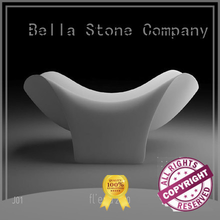 solidsurface capital deep freestanding tub pure Bella company