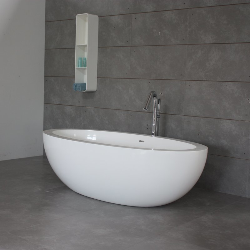Bella Solid Surface Bath BS-S08 1900 Free-standing Bathtubs image4