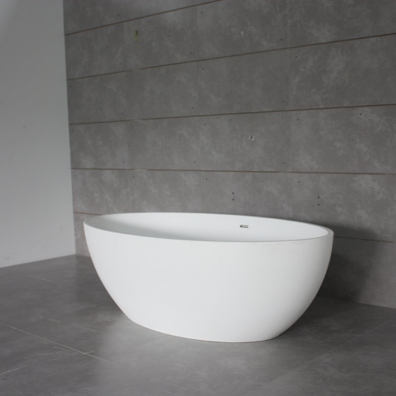 Bella Artificial Stone Bathtub BS-S29 1690 Free-standing Bathtubs image3