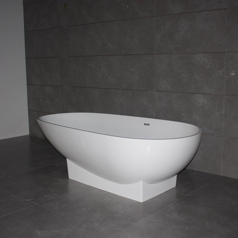 Bella Resin Stone Bath Tub BS-S16 1790 Free-standing Bathtubs image23