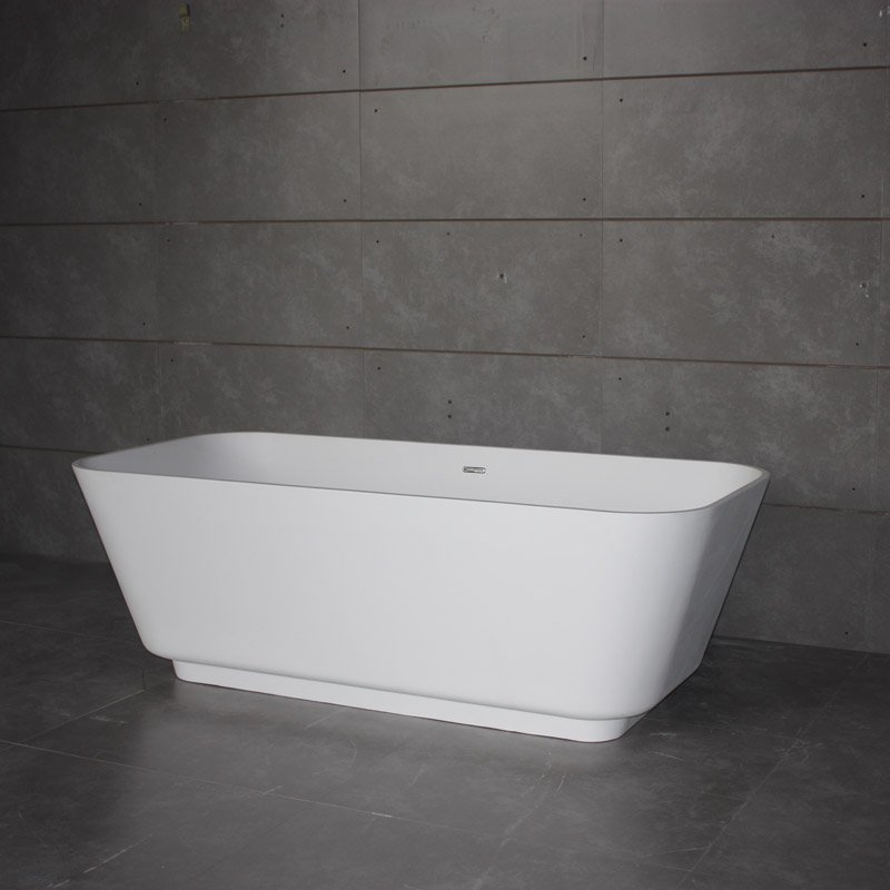 Bella Solid Surface Bathtub BS-S31 1700 Free-standing Bathtubs image16