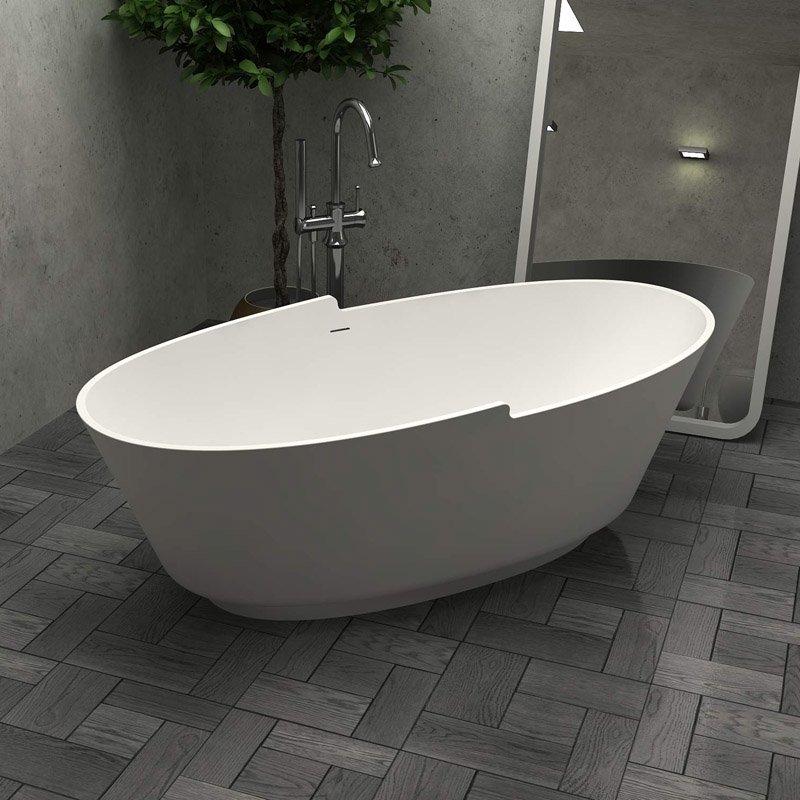 Bella Modified Acrylic Tub BS-S32 1680 Free-standing Bathtubs image17