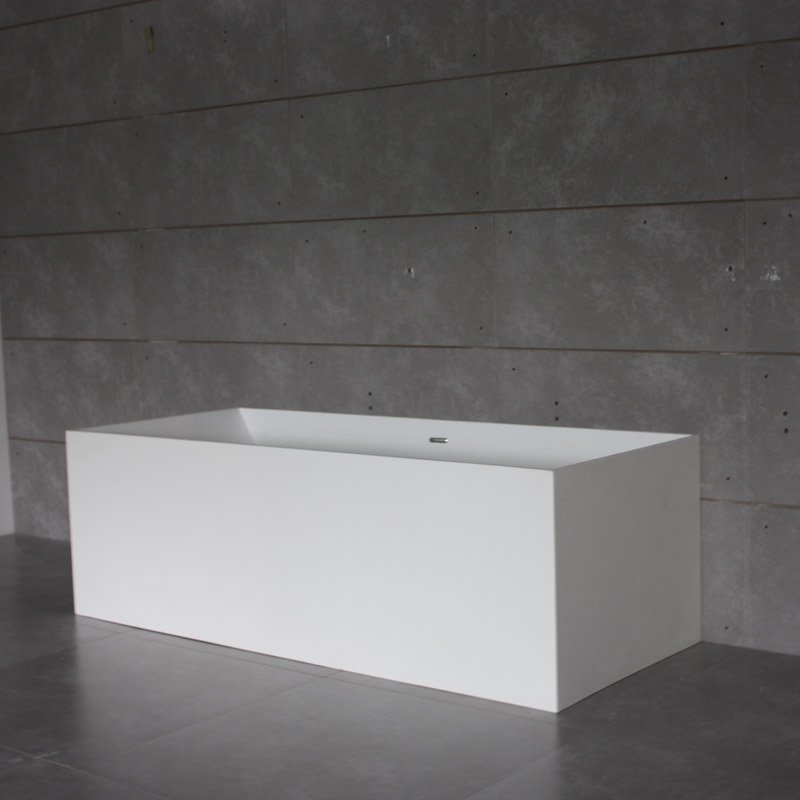Bella Solid Surface Bathtub BS-S14 1750 Free-standing Bathtubs image14