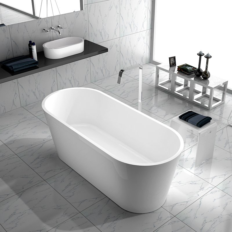 Bella Artificial Stone Bath BS-S07 1695 Free-standing Bathtubs image28