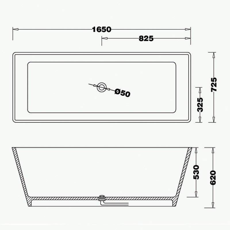 Free-standing Tub BS-S03 1650