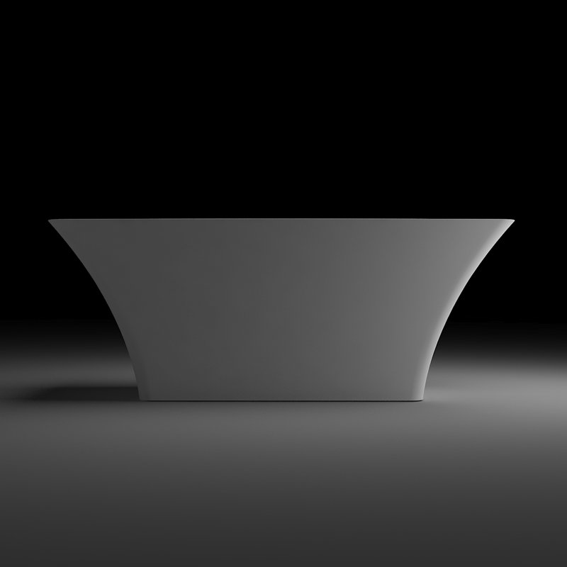 Bella Light Weight Stone Tub BS-Q02 1525 Free-standing Bathtubs image6