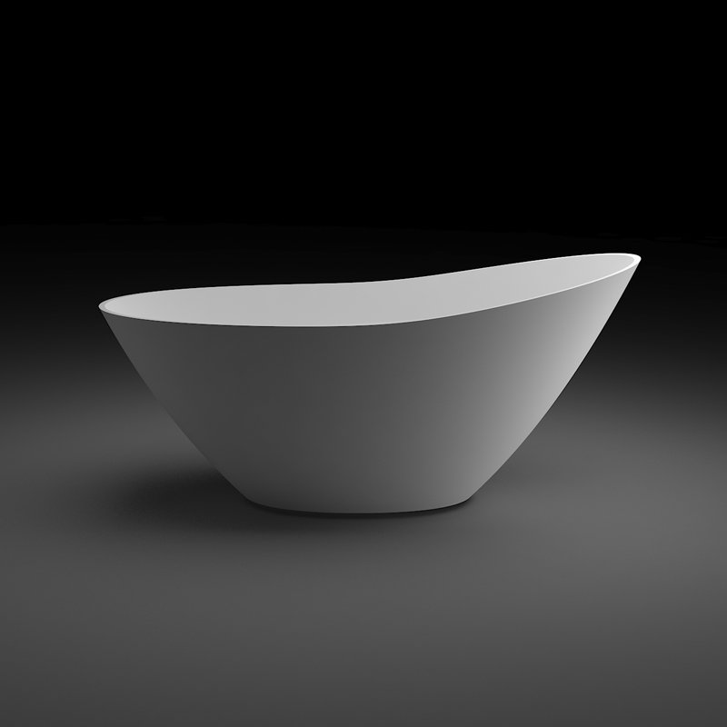 Bella Light Weight Stone Tub BS-Q04 1525 Free-standing Bathtubs image5