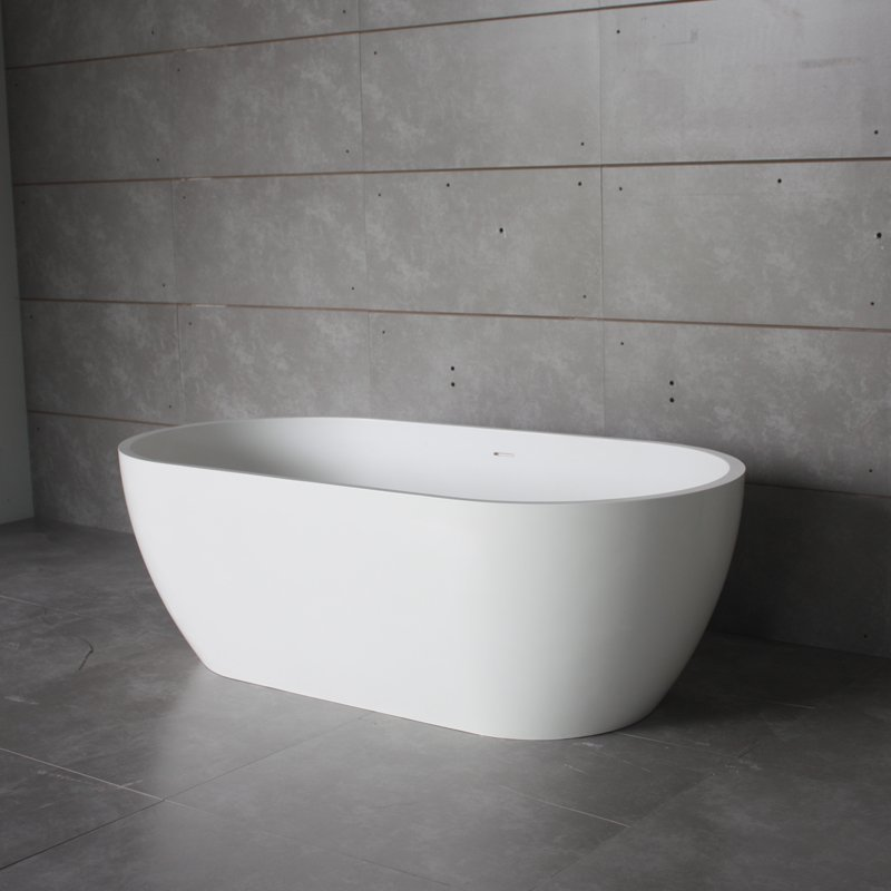 Bella Solid Surface Bathtub BS-S17 1400 Free-standing Bathtubs image2