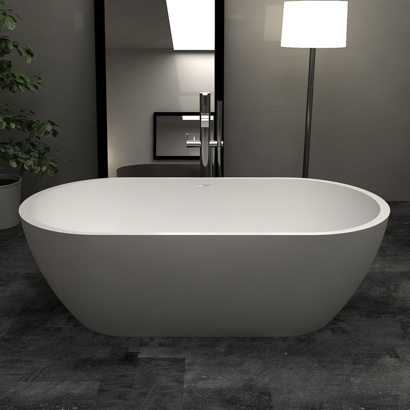 Bella Solid Surface Bathtub BS-S17 1800 Free-standing Bathtubs image1