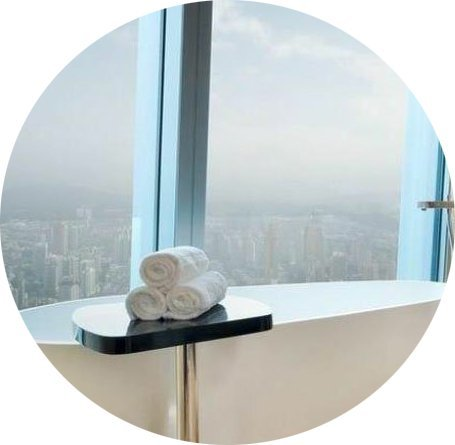 designer lightweight acrylic artificialstone deep freestanding tub Bella