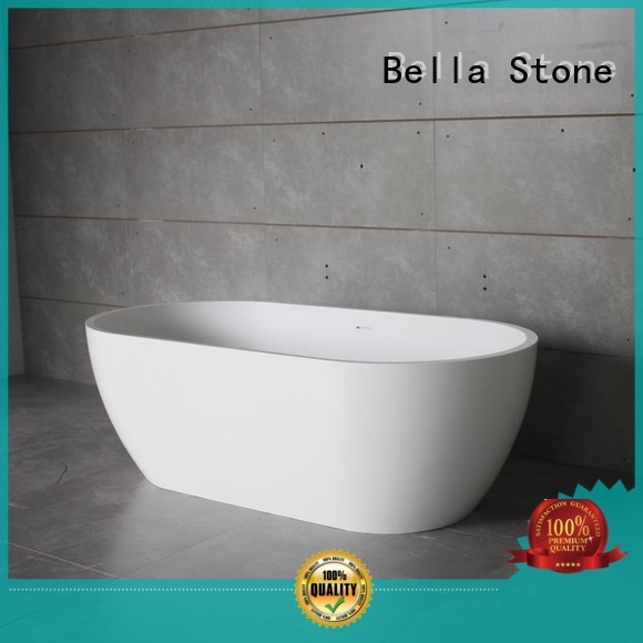 solidsurface lightweight Bella Brand 60 freestanding bathtub factory