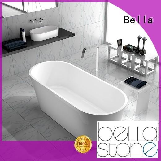 Hot 60 freestanding bathtub solidsurface Bella Brand