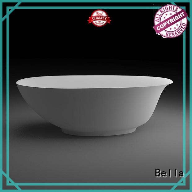 Wholesale artificialstone 60 freestanding bathtub Bella Brand