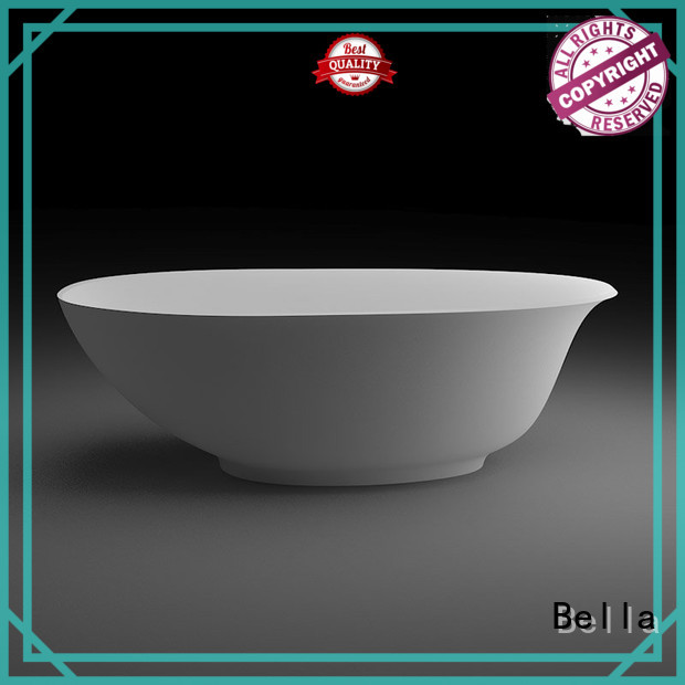 Wholesale artificialstone 60 freestanding bathtub Bella Brand
