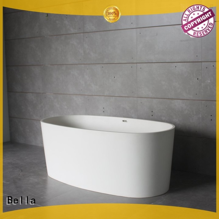 modified deep freestanding tub lightweight Bella company