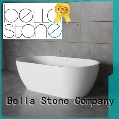 lightweight acrylic deep freestanding tub Bella Brand