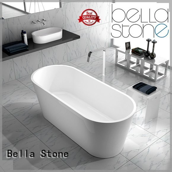 capital resin deep freestanding tub Bella Brand
