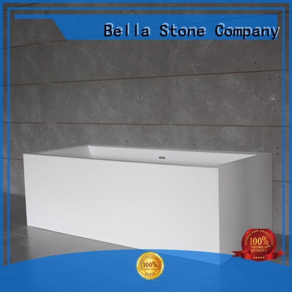 capital solidsurface Bella Brand 60 freestanding bathtub factory