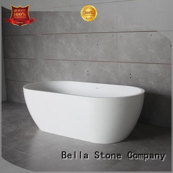 Bella Brand acrylic capital lightweight deep freestanding tub manufacture