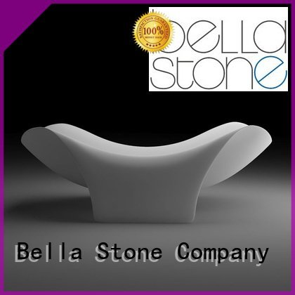 artificialstone deep freestanding tub Bella 60 freestanding bathtub