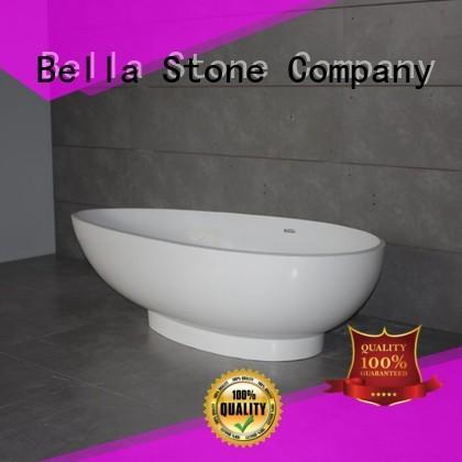 artificialstone lightweight 60 freestanding bathtub modified Bella company