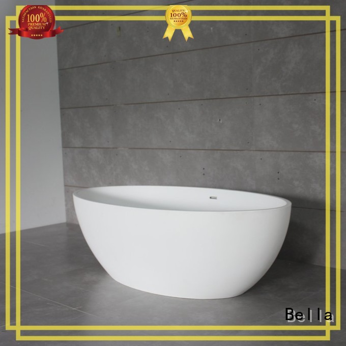 60 freestanding bathtub resin acrylic Bella Brand