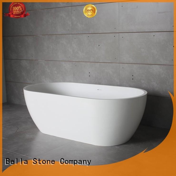 freestanding Wholesale artificialstone 60 freestanding bathtub Bella Brand artificialstone designer