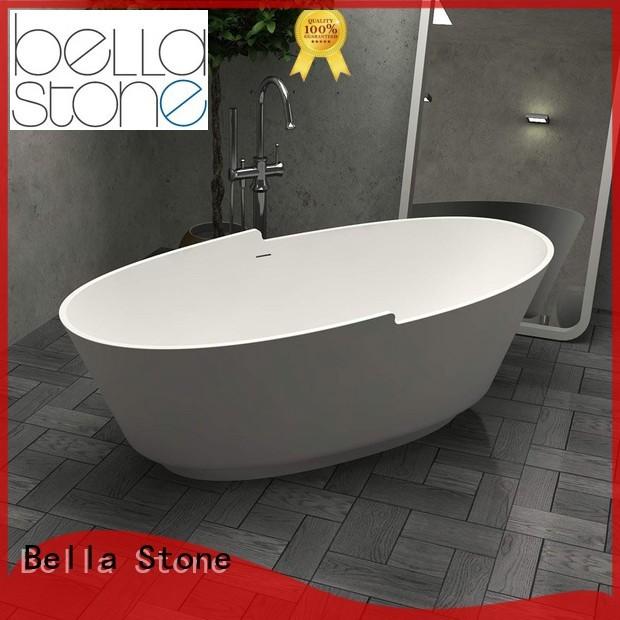 Hot deep freestanding tub acrylic Bella Brand