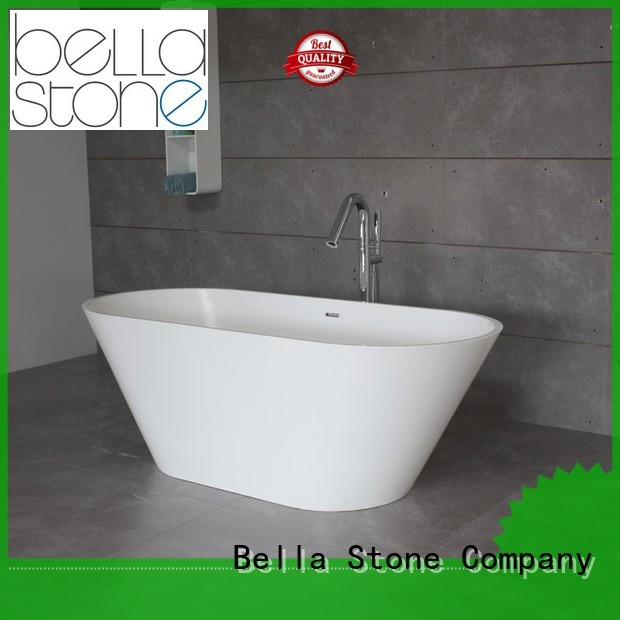 Bella Brand pure designer solidsurface 60 freestanding bathtub lightweight