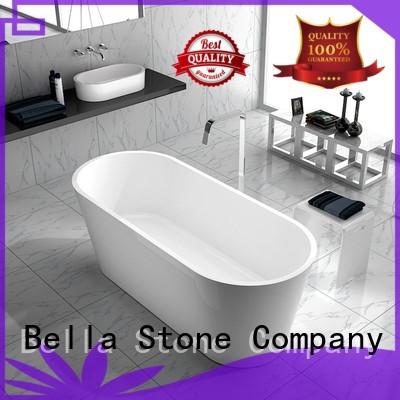 Bella Brand artificialstone capital custom 60 freestanding bathtub