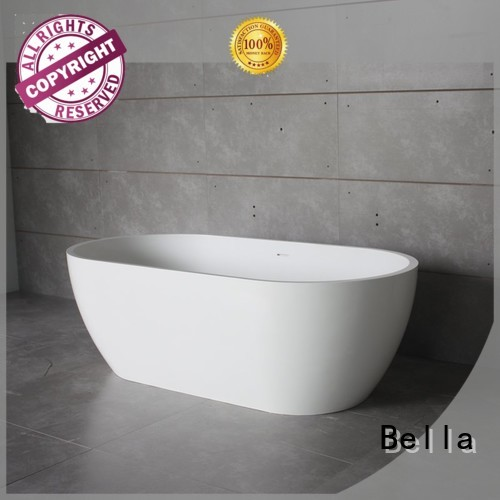 capital designer 60 freestanding bathtub pure solidsurface Bella Brand