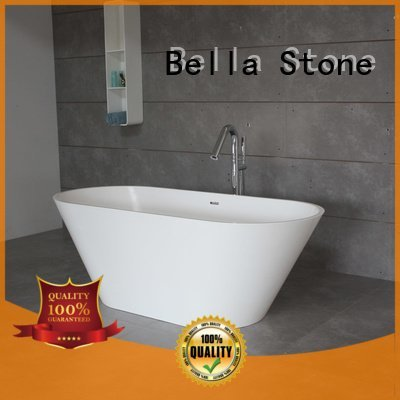 solid solidsurface acrylic Bella 60 freestanding bathtub