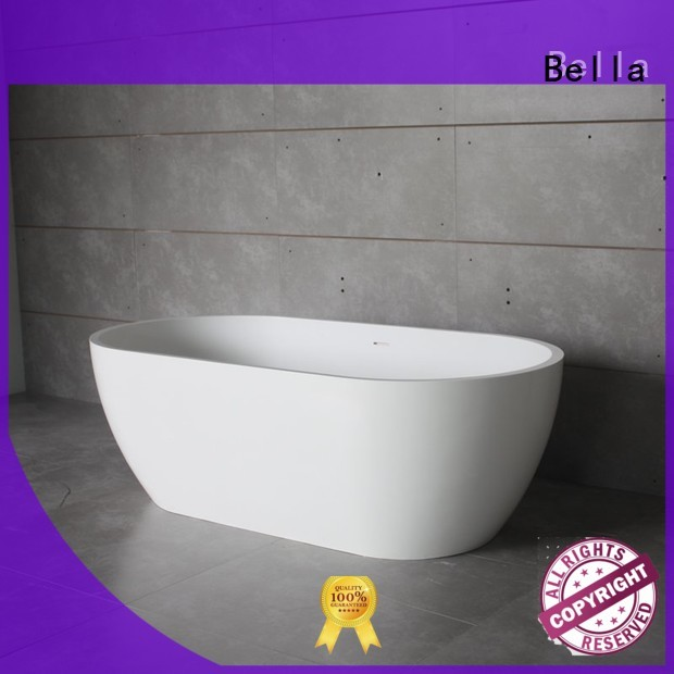 capital resin lightweight OEM deep freestanding tub Bella