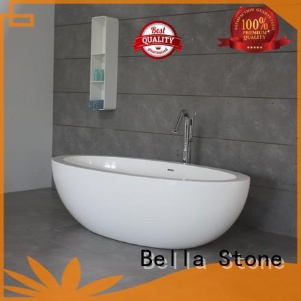 Bella Brand artificialstone modified 60 freestanding bathtub designer supplier