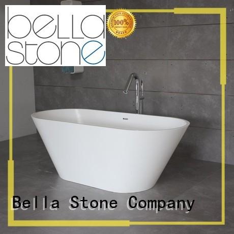 Bella Brand designer solidsurface modified 60 freestanding bathtub capital