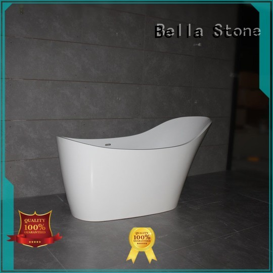 Wholesale resin designer deep freestanding tub Bella Brand