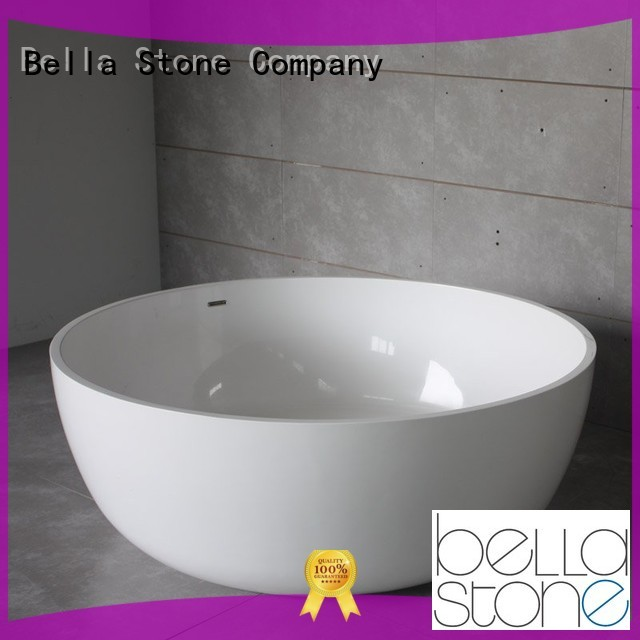 Bella Brand lightweight designer custom 60 freestanding bathtub