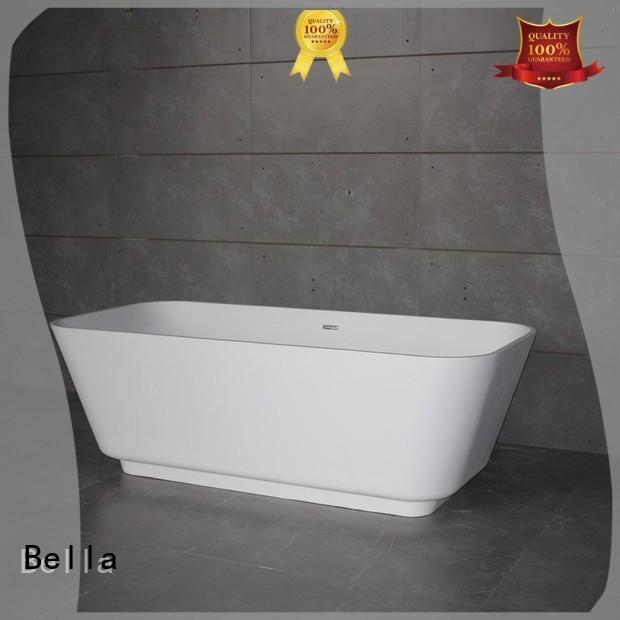 designer resin Bella Brand 60 freestanding bathtub