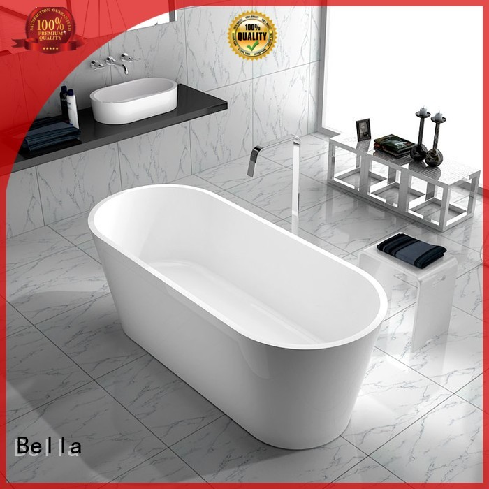 Custom capital deep freestanding tub pure Bella
