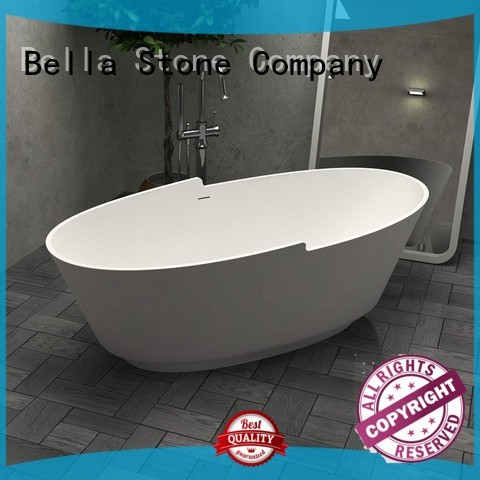 designer lightweight 60 freestanding bathtub Bella Brand