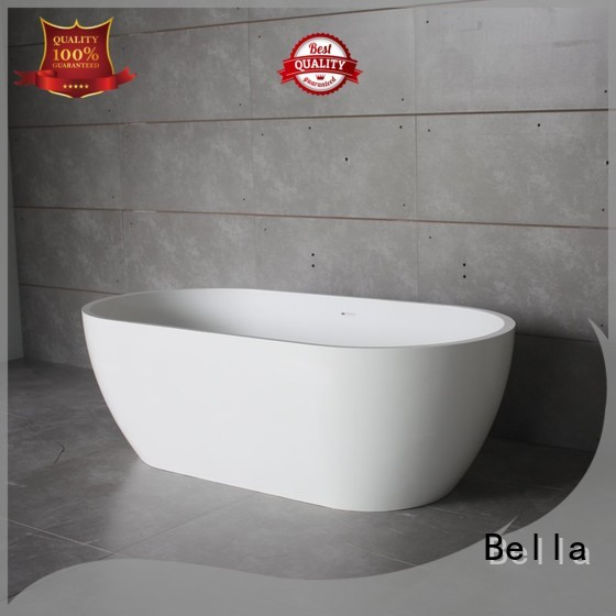 Bella Brand artificialstone deep freestanding tub resin factory