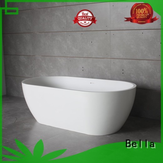 acrylic designer OEM deep freestanding tub Bella