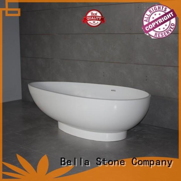 60 freestanding bathtub artificialstone capital lightweight Warranty Bella