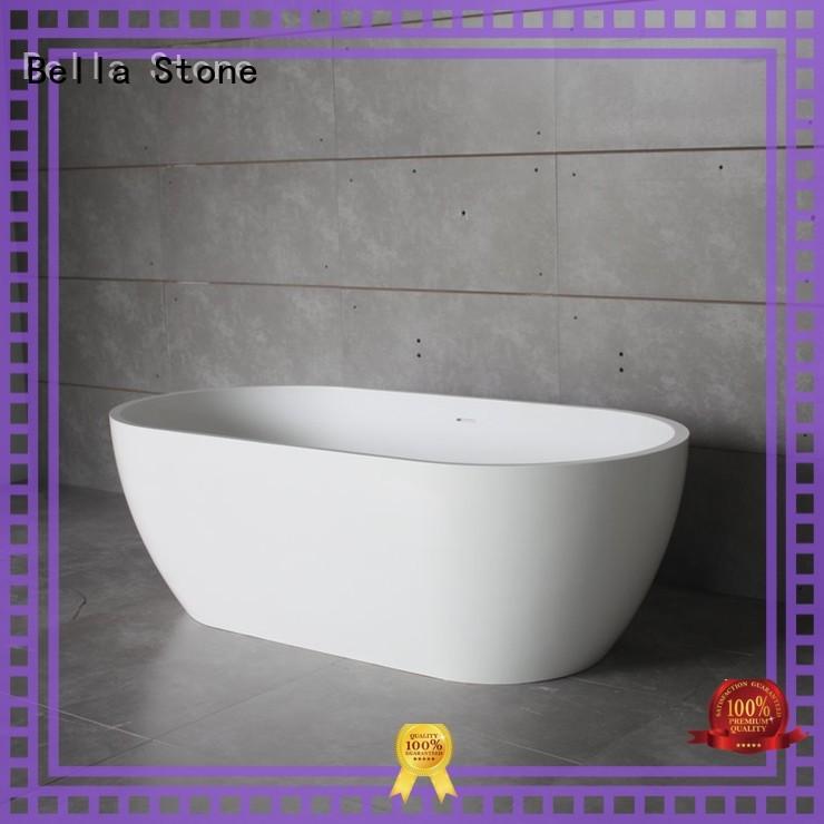 Quality Bella Brand capital acrylic deep freestanding tub